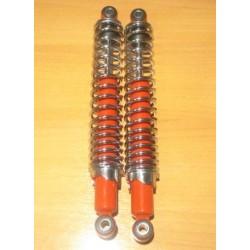 Amortiguadores Betor Trial 340mm Rojo-Cromo