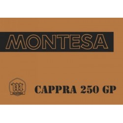 Manual Cappra 250 GP