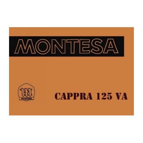Manual Cappra 125 VA