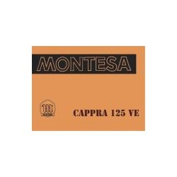 Manual Cappra 125 VE