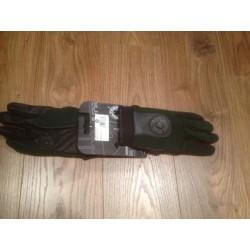 Guantes Bultaco nylon-piel verde L
