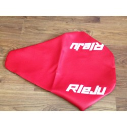 Funda asiento Rieju MR80 roja