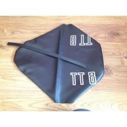 Funda asiento Derbi TT8 negra