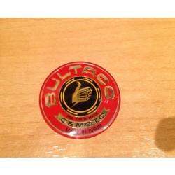 Emblema Bultaco Rojo metacrilato