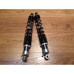 Amortiguadores trial gas de 340mm alum/negro
