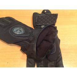 Guantes Bultaco Invierno textil y piel