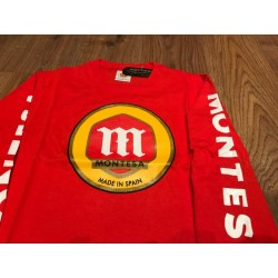 Camiseta Montesa M/ Larga Roja