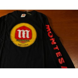 Camiseta Montesa M/Larga Negra