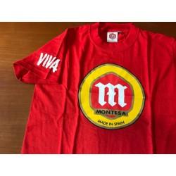 Camiseta Montesa M/Corta roja