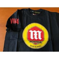 Camiseta Montesa M/Corta negra
