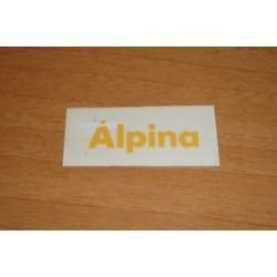 Adh. Alpina amarillo