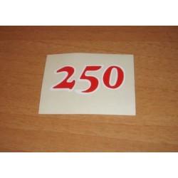 Adh. 250 rojo