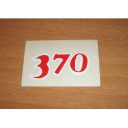 Adh. 370 rojo