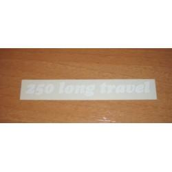 Adh. Long Travel 250 blanco