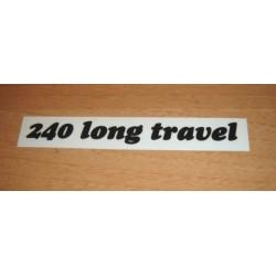 Adh. Long Travel 240 negro
