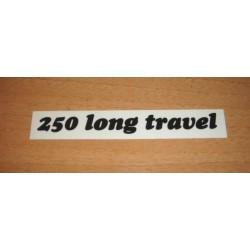 Adh. Long Travel 250 negro