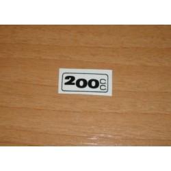 Adh. 200cc. transparente