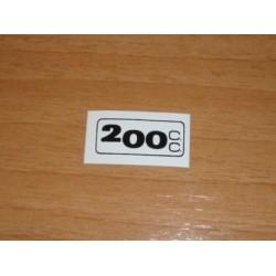 Adh. 200cc. blanco