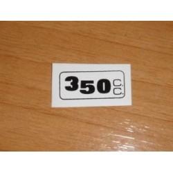 Adh. 350cc. blanco