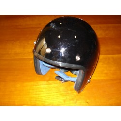 Casco negro XL